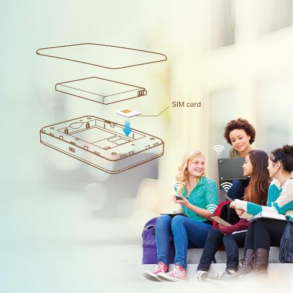 Wi-Fi Móvil LTE- Advanced M7350